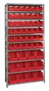 Quantum QSBU-230240 Giant open hopper storage unit, 12