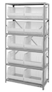 Quantum QSBU-270CL CLEAR-VIEW Hang-and-stack bins, 18