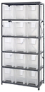 Quantum QSBU-600CL Clear-View Giant Stack Container System, 18