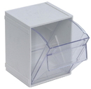 Quantum QTB405 Individual Clear Tip Out Bins (Outside Dimensions: 4