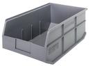 Quantum SSB465 Stackable Shelf Bin, 18