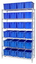 Quantum WR6-24185 snt Wire Shelving Systems (Outside Dimensions: 48