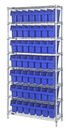 Quantum WR8-805 Wire Shelving Units With Store-Max 8