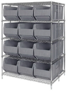 Quantum WRA86-2154C-166 Rack Bin Container Wire Package, 12 QRB166 BINS