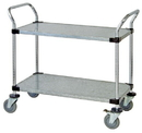 Quantum WRC-1836-2G Solid Shelf Mobile Utility Carts (Outside Dimensions: 36