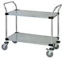 Quantum WRC-1836-2G Solid Shelf Mobile Utility Carts (Outside Dimensions: 36