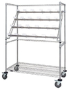 Quantum WRC-BC2448 Catheter Hold and Store Cart, Catheter Hold and Store Cart