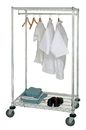 Quantum WRCGR-63-2448 Mobile Wire Garment Rack, Mobile 24