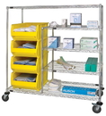 Quantum WRCPL-63-2460-955 Bin Transport Cart, 24