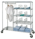 Quantum WRCPL-63-2460 Patient Apparel Cart, 24