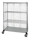 Quantum WRCS4-63-2436EP Linen Cart, 24