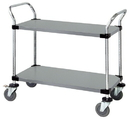 Quantum WRSC-2436-2SS Wire Utility Carts, 24
