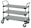 Quantum WRSC-2442-3SS Wire Utility Carts, 24