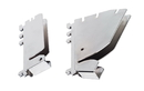Quantum WS-HBB-D Partition Wall Systems - Hanging Brackets, 90° Bracket Pair for Add-On Kits