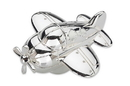 Reed & Barton 2620 Zoom Zoom™ Airplane Silverplate Musical