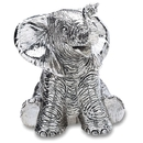 Reed & Barton 538 Baby Elephant Silverplate Musical
