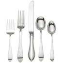 Reed & Barton 5930868 Pointed Antique Sterling 5-piece Dinner Setting