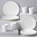 Lenox 6387245 Tin Can Alley® Four° 12-piece Dinnerware Set