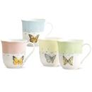 Lenox 773903 Butterfly Meadow® 4-piece Mug Set