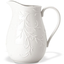 Lenox 806678 Opal Innocence Carved™ Pitcher