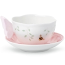 Lenox 806723 Butterfly Meadow Figural® Pink Cup and Saucer