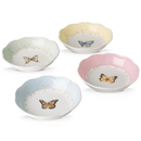 Lenox 806739 Butterfly Meadow ® 4-piece Dessert Bowl Set - 5.25
