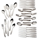 Lenox 816088 Sculpt™ 65-piece Flatware Set