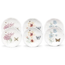 Lenox 817046 Butterfly Meadow® 6-piece Party Plate Set