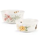 Lenox 820579 Butterfly Meadow® 2-piece Nesting Bowl Set