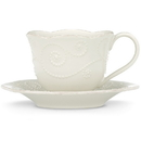 Lenox 822946 French Perle White™ Cup and Saucer