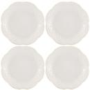 Lenox 822948 French Perle White™ 4-piece Dessert Plate Set