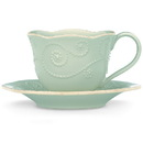 Lenox 824410 French Perle Ice Blue™ Cup and Saucer