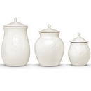 Lenox 825738 French Perle White™ 3-piece Canister Set