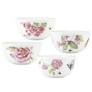 Lenox 829039 Butterfly Meadow Bloom® 4-piece Dessert Bowl Set