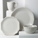 Lenox 829070 French Perle Bead White™ 4-piece Place Setting