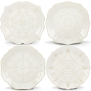 Lenox 829072 French Perle White™ 4-piece Assorted Dessert Plate Set