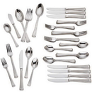 Gorham 846852 Column Frosted™ 45-piece Flatware Set