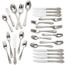 Gorham 846854 Melon Bud Frosted™ 45-piece Flatware Set
