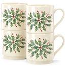 Lenox 853763 Hosting the Holidays™ 4-piece Stackable Mug Set