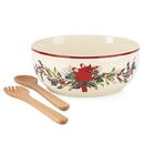 Lenox 853786 Winter Greetings® Salad Bowl and Servers