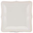 Lenox 854794 French Perle Bead White™ Square Dinner Plate