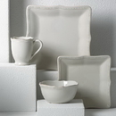 Lenox 854796 French Perle Bead White™ Square 4-piece Place Setting