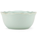 Lenox 854863 French Perle Bead Ice Blue™ All-Purpose Bowl