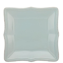 Lenox 854871 French Perle Bead Ice Blue™ Square Accent Plate