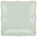 Lenox 854873 French Perle Bead Ice Blue™ Square Dinner Plate