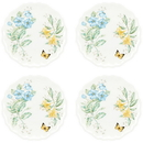 Lenox 856373 Butterfly Meadow Melamine® 4-piece Dinner Plate Set