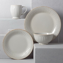 Lenox 856883 French Perle Groove White™ 4-piece Place Setting