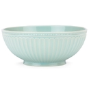 Lenox 856933 French Perle Groove Ice Blue™ Medium Serving Bowl