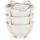 Lenox 858037 French Perle Groove™ White 3-piece Mini Bowl Set