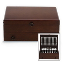 Reed & Barton 863088 Bristol Cherry Finish Flatware Chest